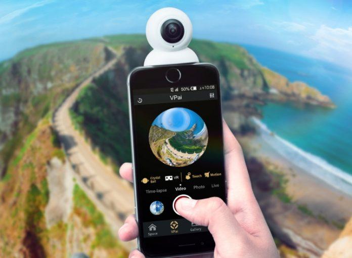 VRCam X2 — 4К панорамная камера для iPhone