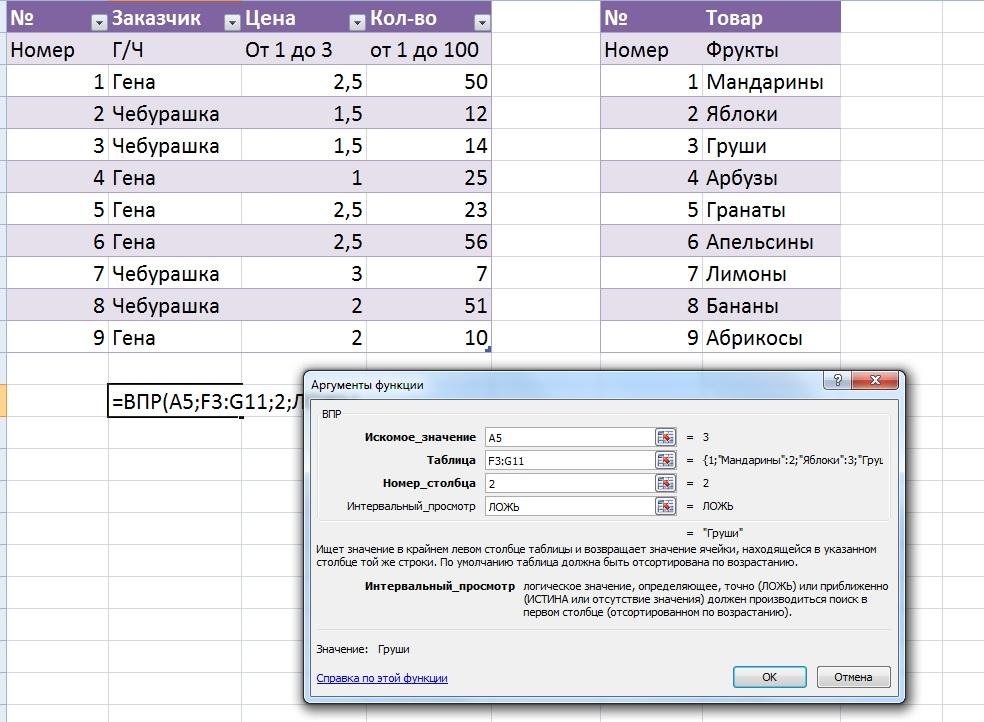 Excel: 10 формул для работы в офисе