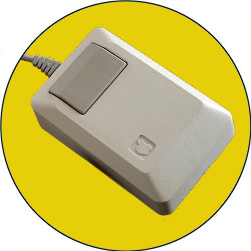 Apple Macintosh Mouse M0100