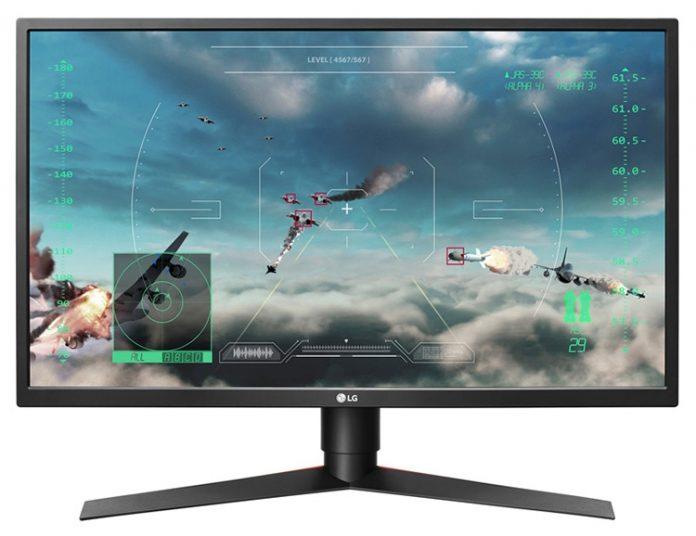 Игровой монитор LG 27GK750F-B имеет частоту обновления в 240 Гц