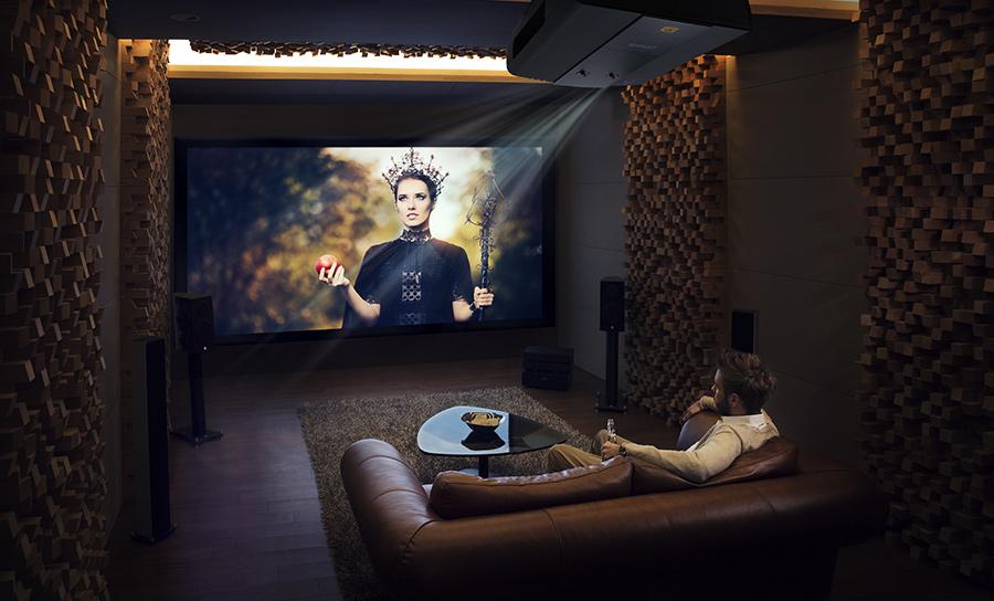 Серия проекторов BenQ CinePro создана для истинных любителей кино