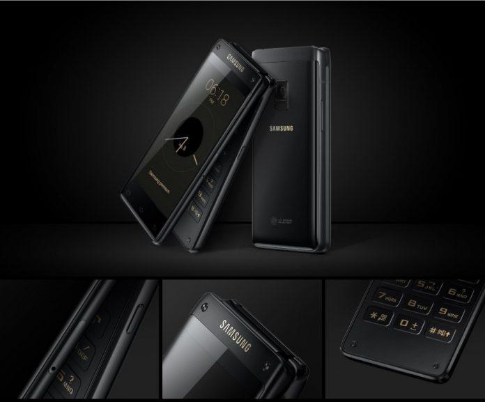 Флагманская раскладушка Samsung W2018 получила два 4,2-дюймовых дисплея