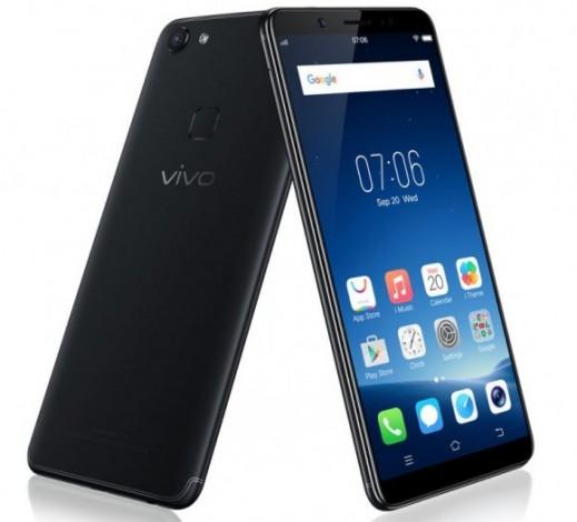 Названы российские цены безрамочных смартфонов Vivo V7 и V7+
