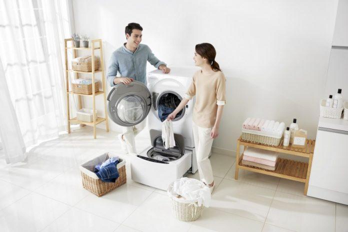LG привезла в Россию стиральную машину с двумя барабанами