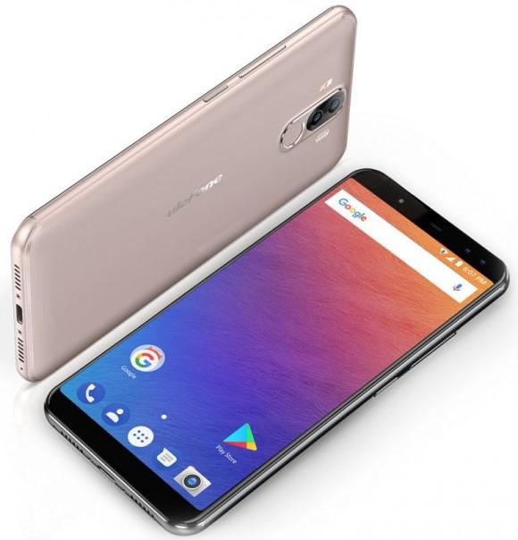 Ulefone представила мощный безрамочный смартфон-долгожитель Power 3