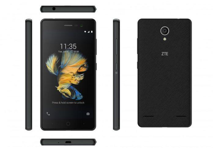 В Россию приехал новый бюджетный смартфон ZTE Blade A520C