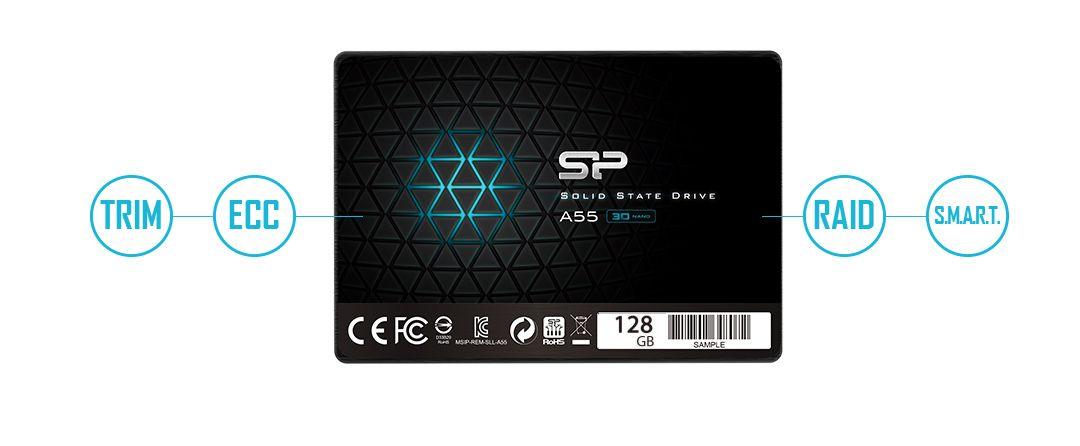 Миниобзор SSD Silicon Power Ace A55 128GB: экономный апгрейд до ...