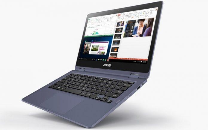 Asus Laptop TP202NA — ноутбук меньше листа А4