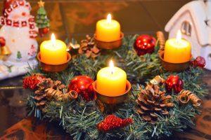 Новогодние свечи могут заменить гирлянду