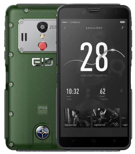 Elephone представила защищенный смартфон с настоящим компасом