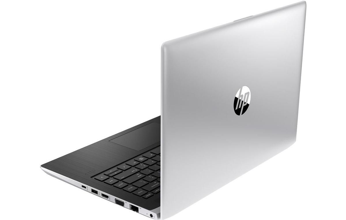 Серебристый алюминиевый корпус ProBook выглядит оченьэлегантно.