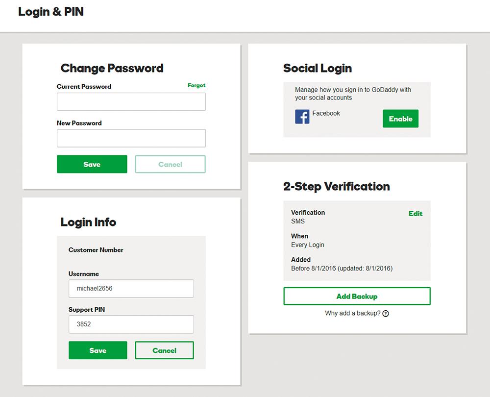 PIN-код для службы поддержки: чтобы хакер не выдал себя за вас в службе поддержки, используйте PIN-код, который отгадать не так просто, как дату рождения.