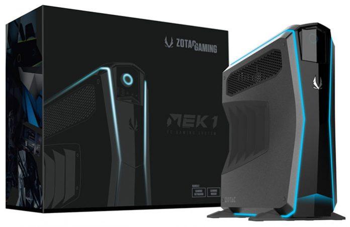 Игровой мини-ПК Zotac MEK1 получил видеокарту GeForce 1070 Ti