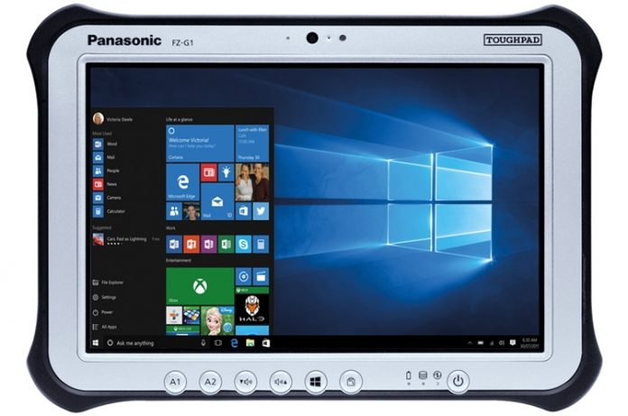 Panasonic привезла в Россию неубиваемый планшет