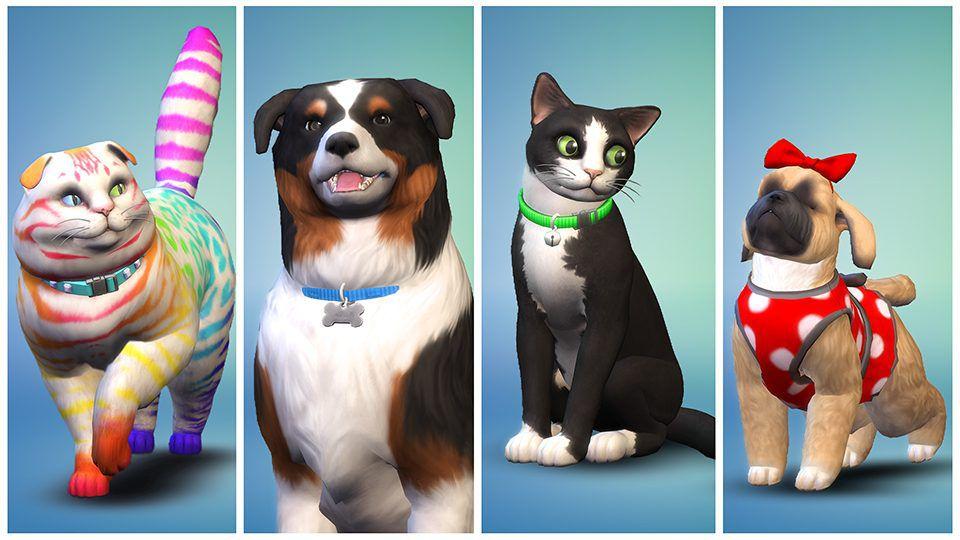 Заводим питомцев в The Sims 4: Кошки и собаки