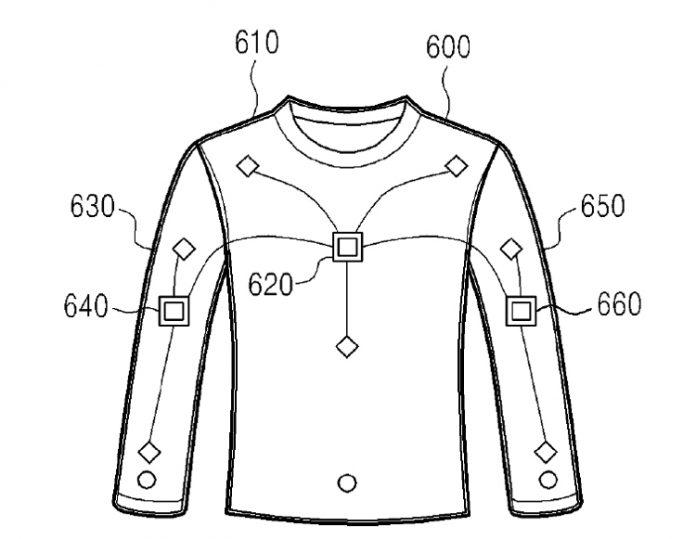 Samsung запатентовала свитер, с помощью которого можно заряжать гаджеты