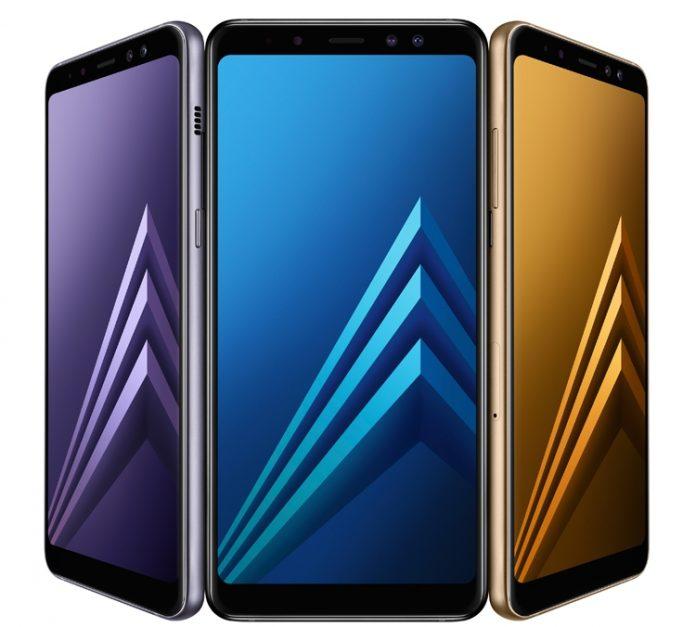 Новые Samsung Galaxy A8 и A8+ (2018) представлены официально