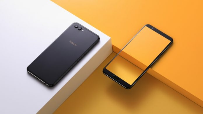 Huawei представила безрамочный флагман Honor View 10