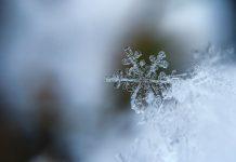 фотографируем снежинки