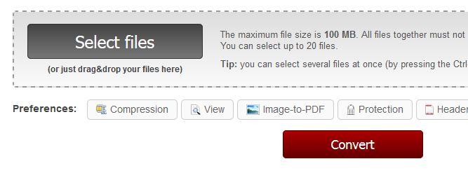 Онлайн PDF-конвертор