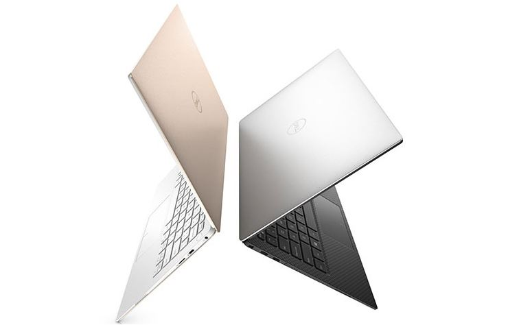 Ультрабук XPS в розовой и белой расцветке напоминают актуальную модель MacBook
