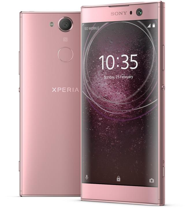 Сони анонсировала доступные мобильные телефоны Xperia XA2 Ultra, Xperia XA2 иXperia L2
