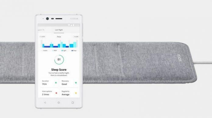 Nokia анонсировала устройство для мониторинга сна