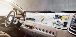Электромобиль Byton оснащается дисплеем 125x25 см
