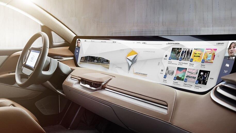Tesla вызвали на дуэль: электромобиль Byton с метровым дисплеем