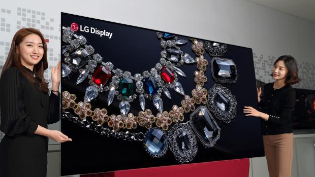 Первая OLED-панель от LG с диагональю 88 дюймов и разрешением 8К