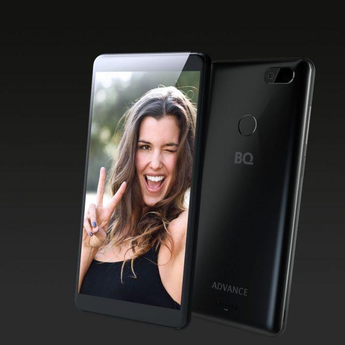 Российский смартфон BQ 5500L Advance получил функцию распознавания лиц
