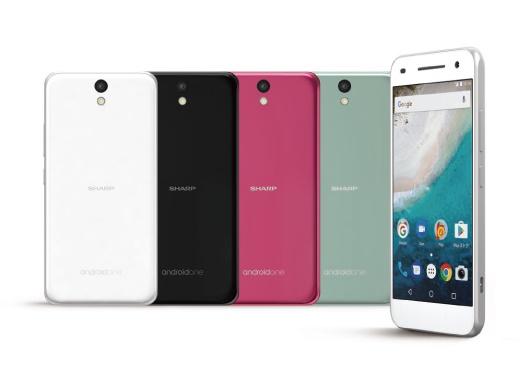 Sharp анонсировала бюджетный смартфон, разработанный в рамках программы Android One