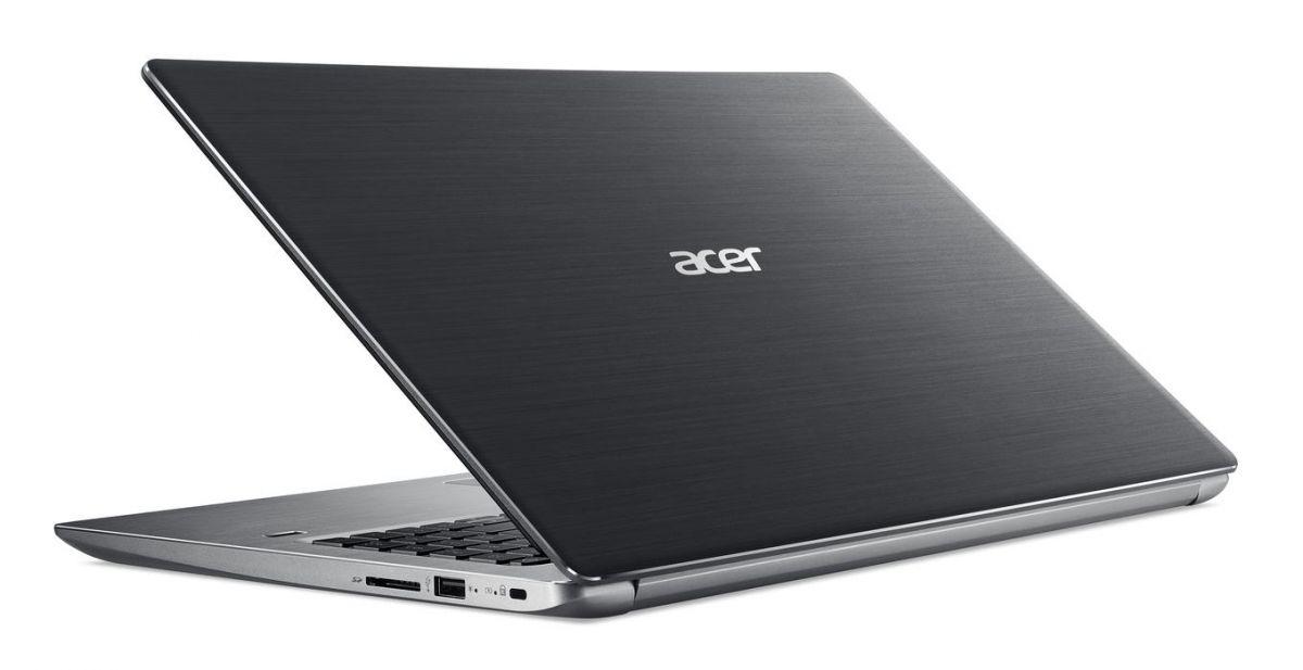 Стильный алюминиевый корпусу Acer Swift 3 производит хорошее впечатление