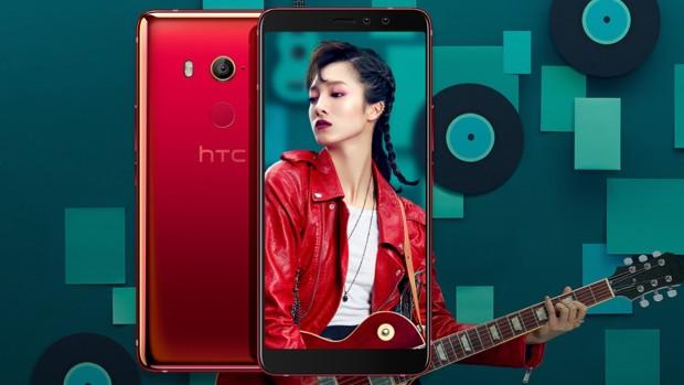 HTC U11 EYEs оснащен двойной фронтальной камерой с разрешением 5 Мп