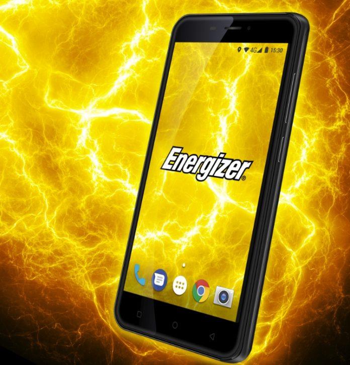Energizer представила смартфон-долгожитель Power Max P550S