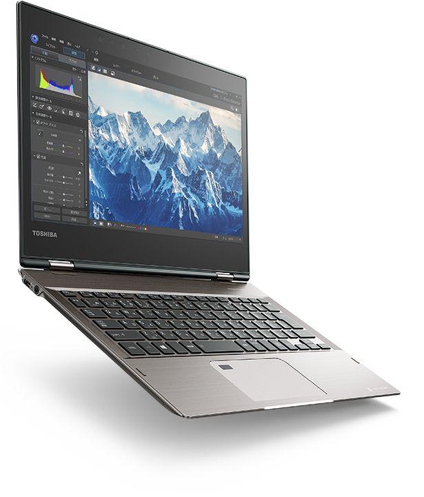 Toshiba представила гибридный ноутбук Dynabook V