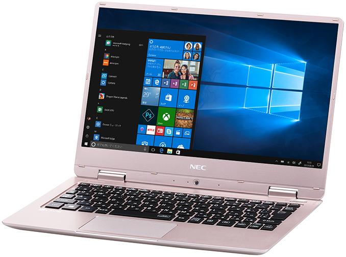 NEC представила тонкий и лёгкий ноутбук с пассивным охлаждением