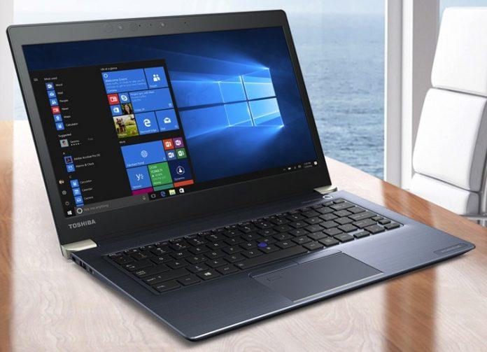 Toshiba анонсировала мощные ноутбуки Portege на базе процессоров Intel Core восьмого поколения