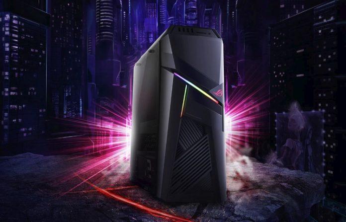 ASUS привезла на CES 2018 мощный игровой компьютер ROG Strix GL12