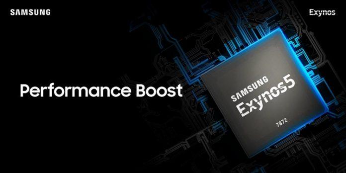 Samsung представила новый мобильный процессор Exynos 7872