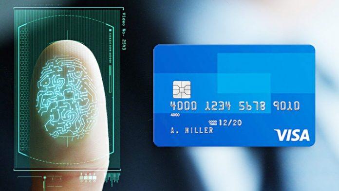 Создана банковская карта со встроенным сканером отпечатка пальца