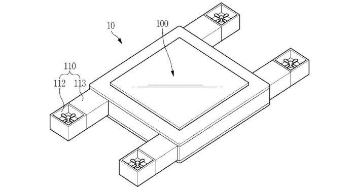 Samsung запатентовала уникальный дрон, которым можно управлять одним взглядом