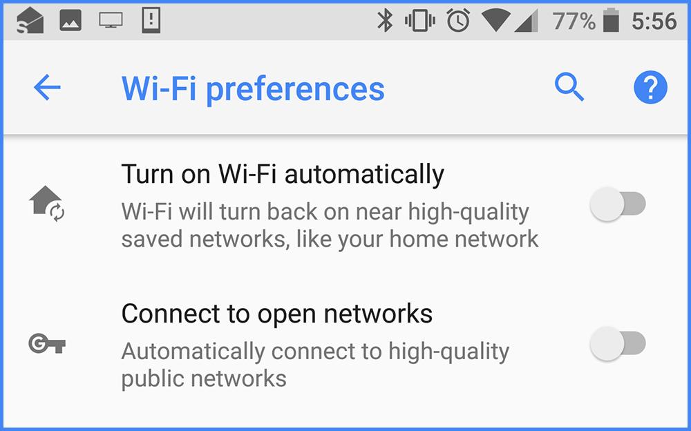 Автоматическое подключение к беспроводной домашней сети