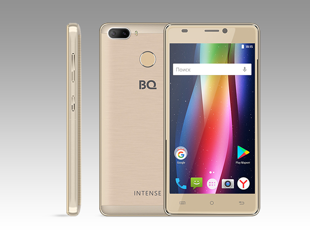BQ представила новый российский смартфон с супермощной батареей