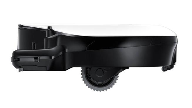 Выдвижные колеса помогают Powerbot преодолевать даже высокие дверные пороги
