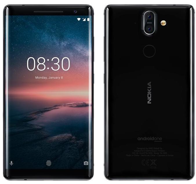Флагманский смартфон Nokia 8 Sirocco получил корпус из сверхпрочной стали