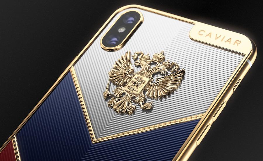 Золотые iPhone X для олимпийцев
