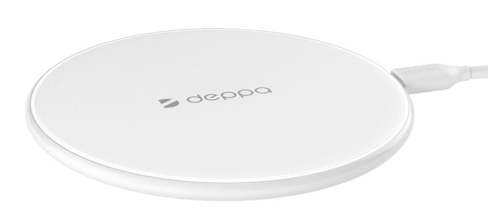 Deppa Qi Fast Charger беспроводная зарядка Chip