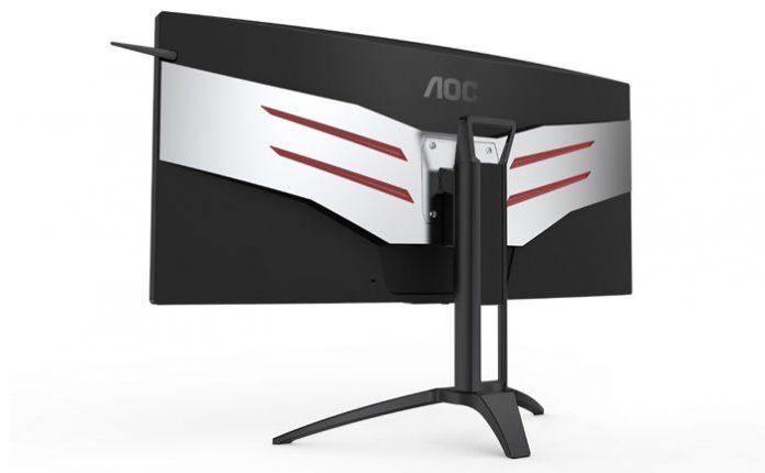 AOC представила большой игровой монитор с внешней подсветкой