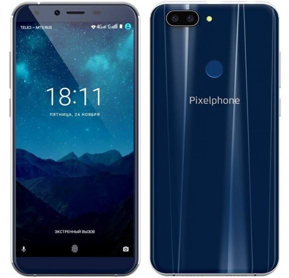 Российский смартфон Pixelphone M1 представлен официально